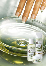 Olivenöl für weiche Haut